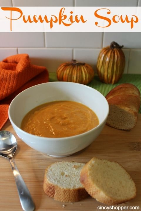 100 pumpkin soup recipes on pinterest creamy pumpkin for Easy tasty soup recipes
