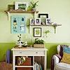 Make Room for Display - nice shelf arrangement