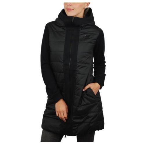 NWT $180 Nike WMNS Advance 15 Parka Jacket Black 805345 010 Authentic SZ M #Clothing, Shoes & Accessories:Women's Clothing:Athletic Apparel #
