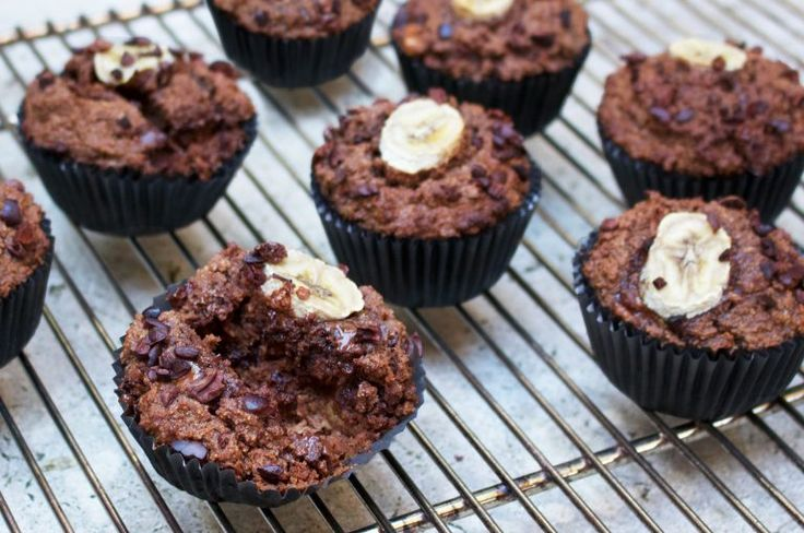 Best Ever Double Choc & Banana Muffins | Jessica Sepel