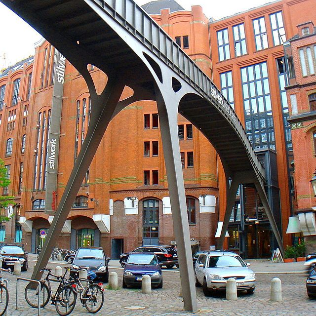 Stilwerk Brücke, Hamburg, Germany
