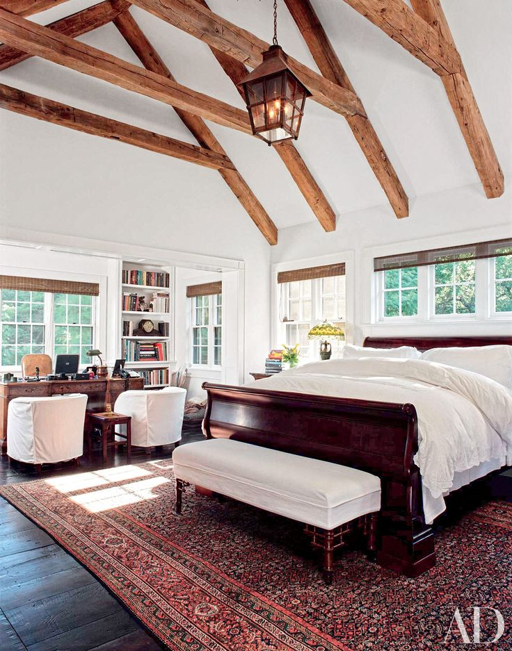 Best 25+ Vaulted ceiling bedroom ideas on Pinterest Grey room Black leather bed and Wall colors - Vaulted Ceiling Bedroom