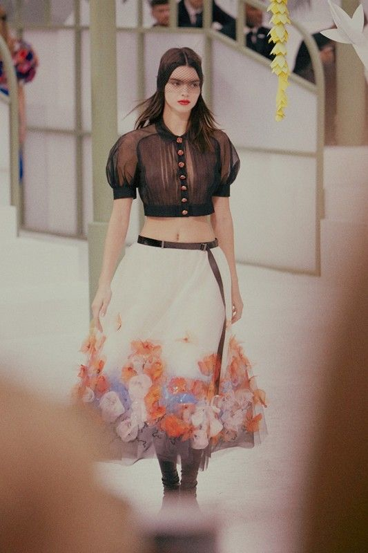 Kendall Jenner (Elite) at Chanel Haute Couture SS15