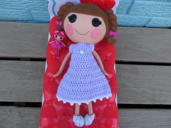 Amigurumi Doll Lalaloopsy Pattern : Best lalaloopsy doll dress handmade by sue inch doll