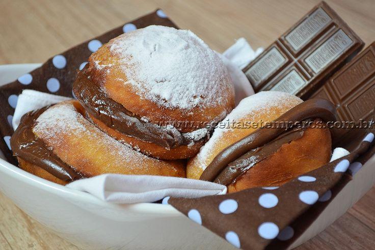 Sonhos deliciosos – Hershey's | Receitas e Temperos