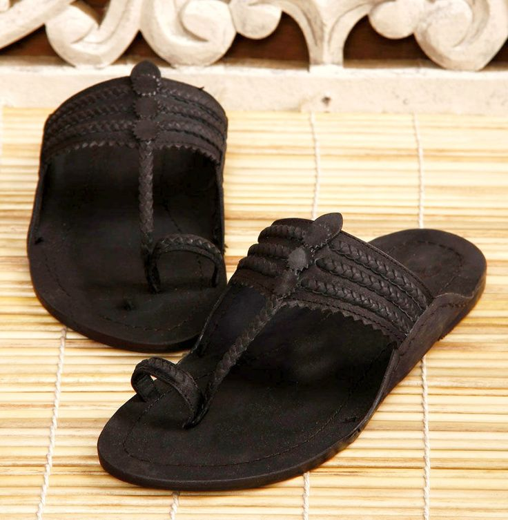 Indian handmade sandals (Kolhapuri chappals)