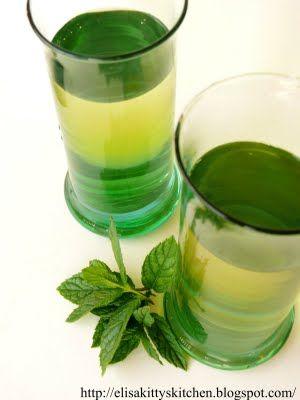Italian Drink Recipes...… Sciroppo alla menta