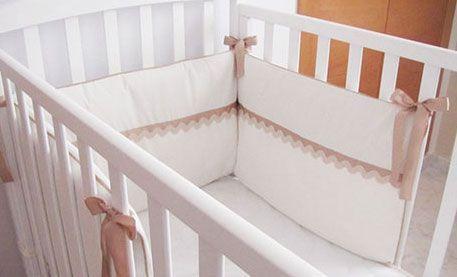 Tutorial paso a paso sobre cómo hacer una chichonera para cuna de bebé - DIY