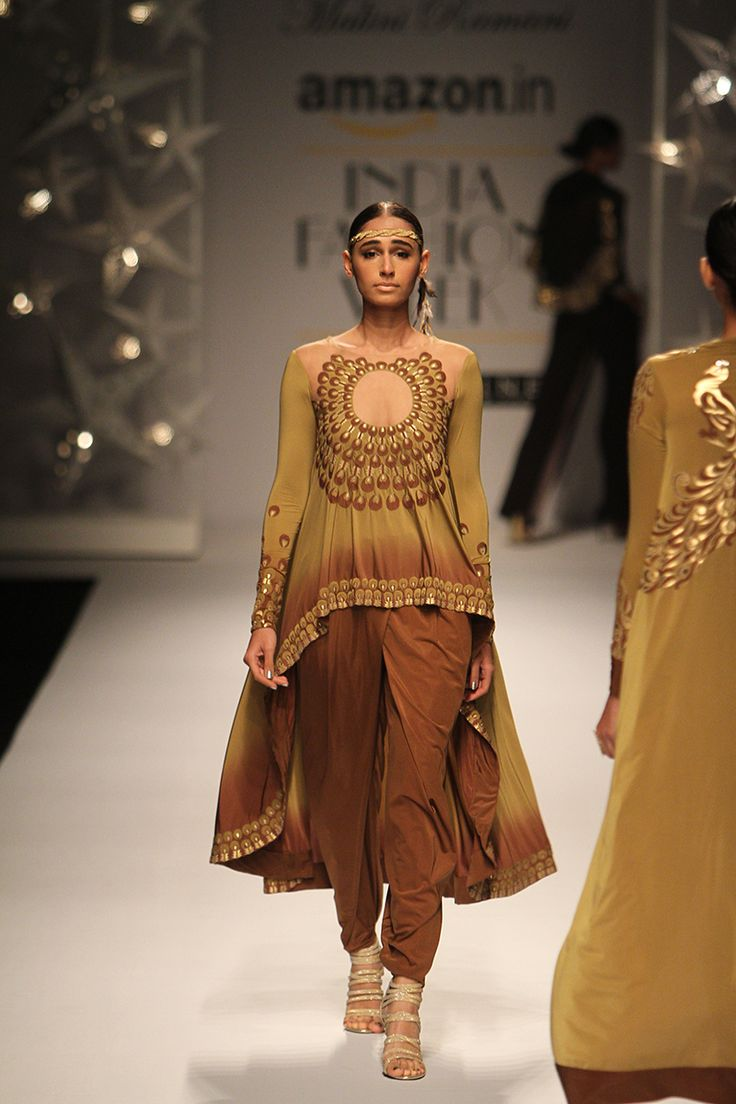 Amazon India Fashion Week Autumn/Winter 2016 | Malini Ramani #AIFW2016 #autumnwinter #PM