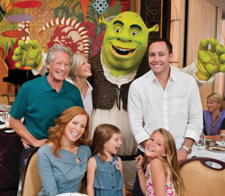 ¿Te gustaría conocer a Shrek?