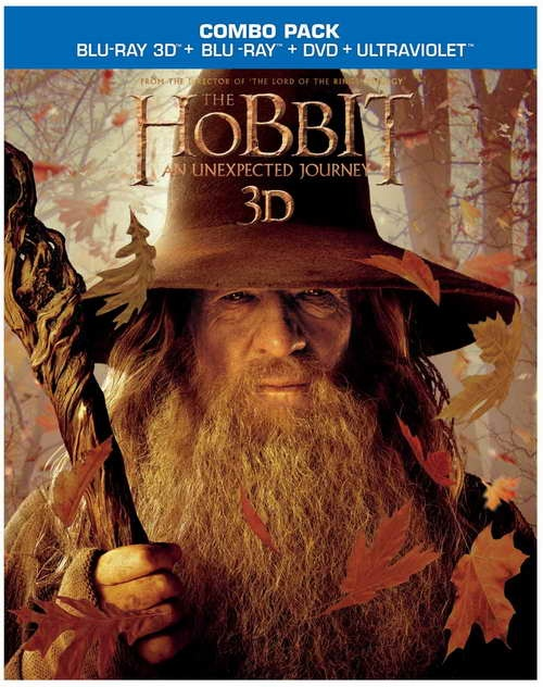 The Hobbit An Unexpected Journey on blu-ray