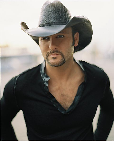 Tim McGraw! Love him and his adorable wifey Faith Hill...