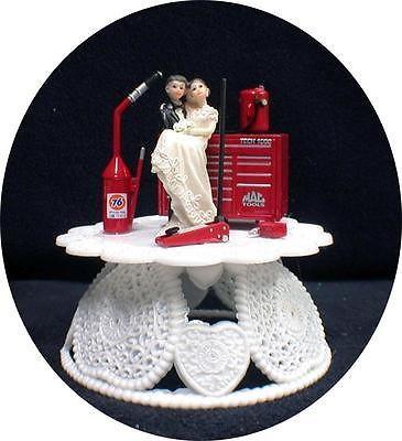 Trans Wedding Cake Topper