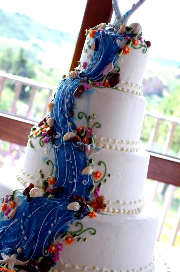 Cake Hawaii Wedding