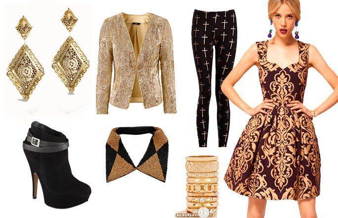 un atuendo completo con todo lo que representa la moda bizantina  en nuestros tiempos.Resumiendo lo que fue y sigue siendo moda.