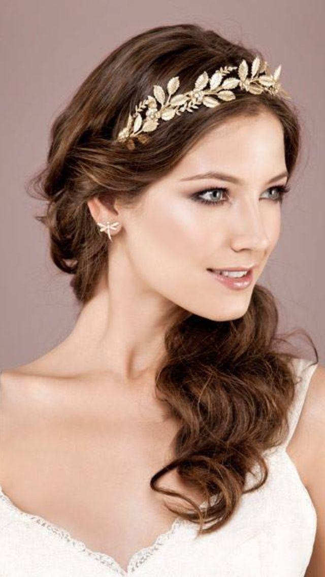 Tiara or a fine Laurel circlet