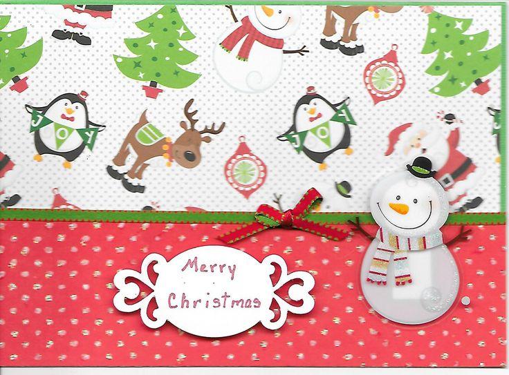 Beautiful Christmas Card Print #2: 6370a9940e918b4570144efd728d3038--christmas-scenes-sticker.jpg