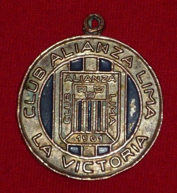medalla souvenir alianza lima 1970 futbol peruano