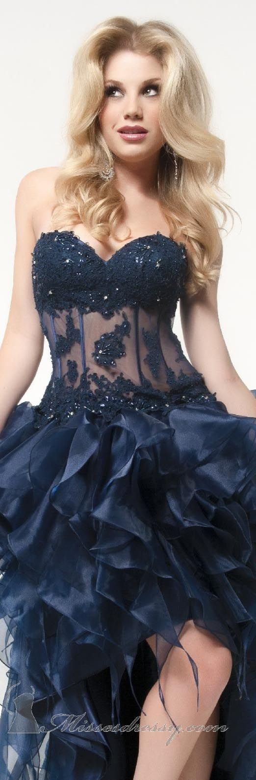 Strapless Sweetheart Gown by Jasz Couture
