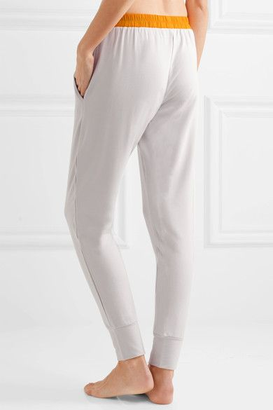 Elle Macpherson Body - Chic French Terry Pants - Light gray - x large