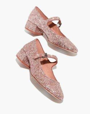 22bd7daefde1 Madewell The Delilah Mary Jane in Glitter