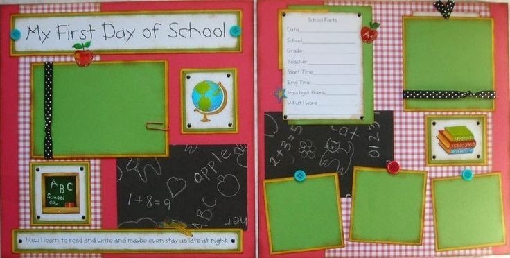 kindergarten scrapbook page layout ideas   Request a custom order and have something made just for you.