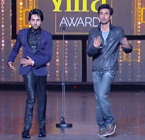 Ayushmann Khurrana & Ranbir Kapoor Dance like Kareena