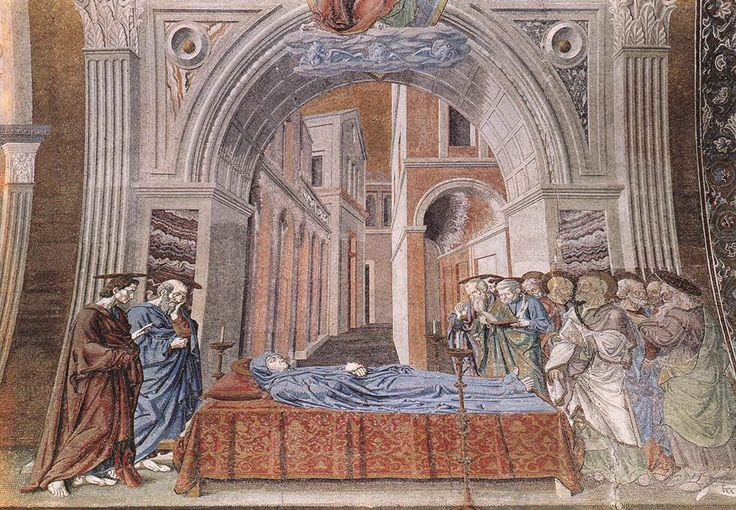 Great art from Art Authority: Dormition of the Virgin by Andrea del Castagno