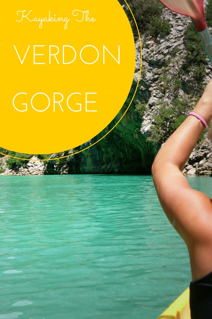 Kayaking the Verdon Gorge in the Provence, France - The canyon is one of the largest in Europe and a great place for an adventure. Read more about it: http://www.cityseacountry.com/kayaking-the-verdon-gorge-in-south-france/