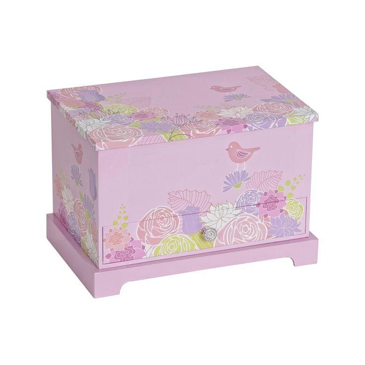 Mele & Co. Piper Girls' Musical Ballerina Jewelry Box - Pink