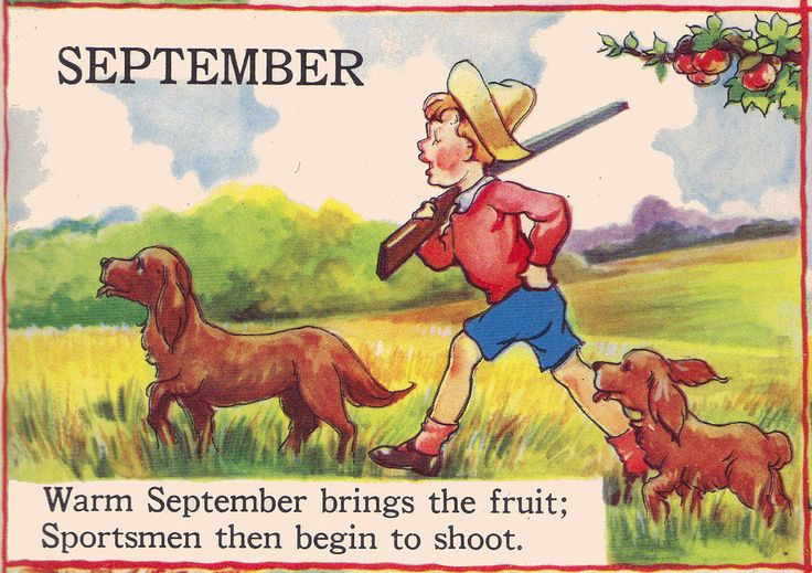 """SEPTEMBER - The Bumper Book; """"A bumper crop of good stories and poems to grow on"""" Illustrated by Eulalie Edited by Watty Piper 1946"""