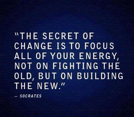 ...denn nur wer sich auf die eigene Zukunft und SEIN Leben konzentriert, kann Wunderbares (er)schaffen!