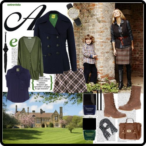Autumn British Country Style                                                                                                                                                                                 More