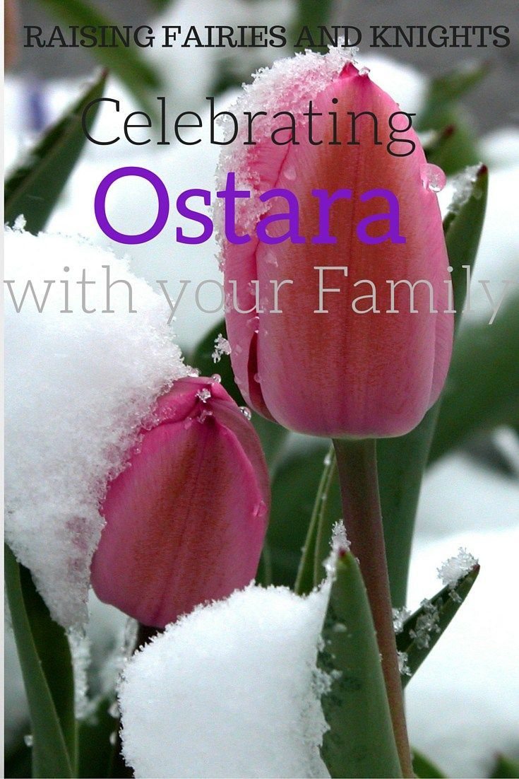 Celebrating Ostara With your Family - Ostara is also known as the spring equinox. It is the time of year when day and night are once again equal. Celebrate this beautiful day with your family.
