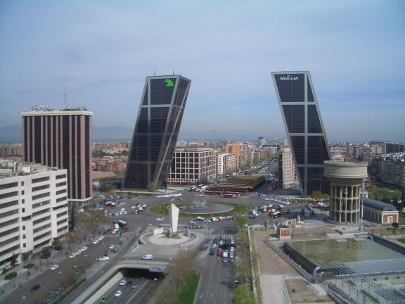 Philip Johnson and John Burgee - KIO towers