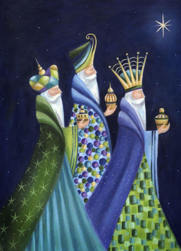 Ileana Oakley - Three Kings Religious Christmas