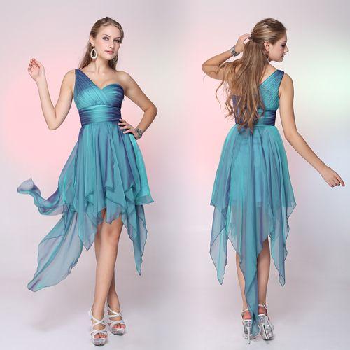 Βραδινές Τουαλέτες : Asymetric One Shoulder Dress
