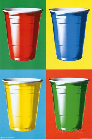 Party Cups Pop Art Prints at AllPosters.com