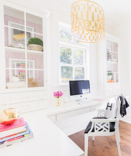 Chic home office.