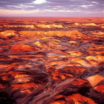 The Painted Hills of outback Australia. Only a few people have seen this spectacular scenery.