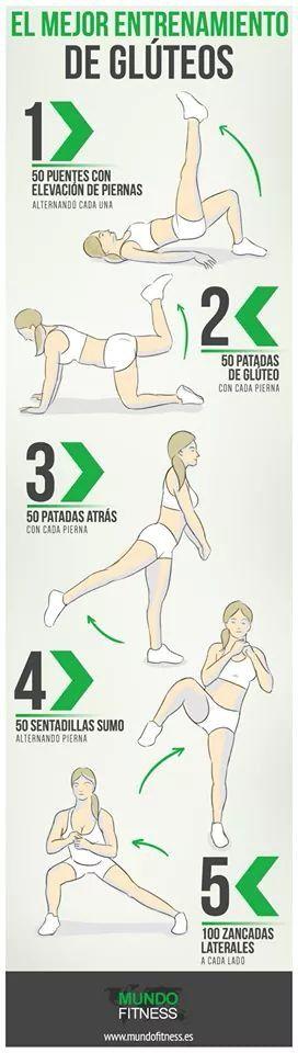 ejercicios para los glúteos