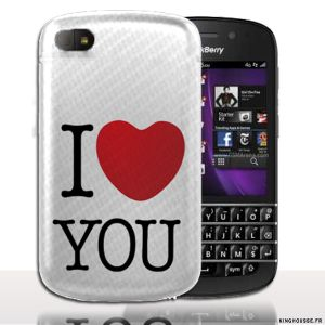 Coque BlackBerry Q10 | Design JTM | Coque de protection arriere
