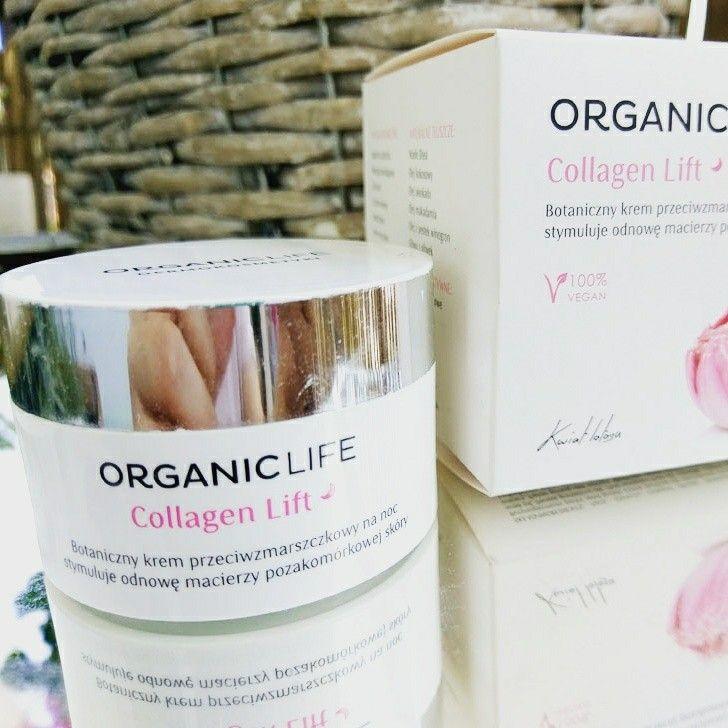Organic Life - krem przeciwzmarszczkowy na noc z serii Collagen Lift. Znacie?  http://www.n-jak-natura.pl/2017/08/organic-life-collagen-lift-botaniczny.html?m=1  #organiclife #antiage #newpost #skincare #beautyskin #njaknatura
