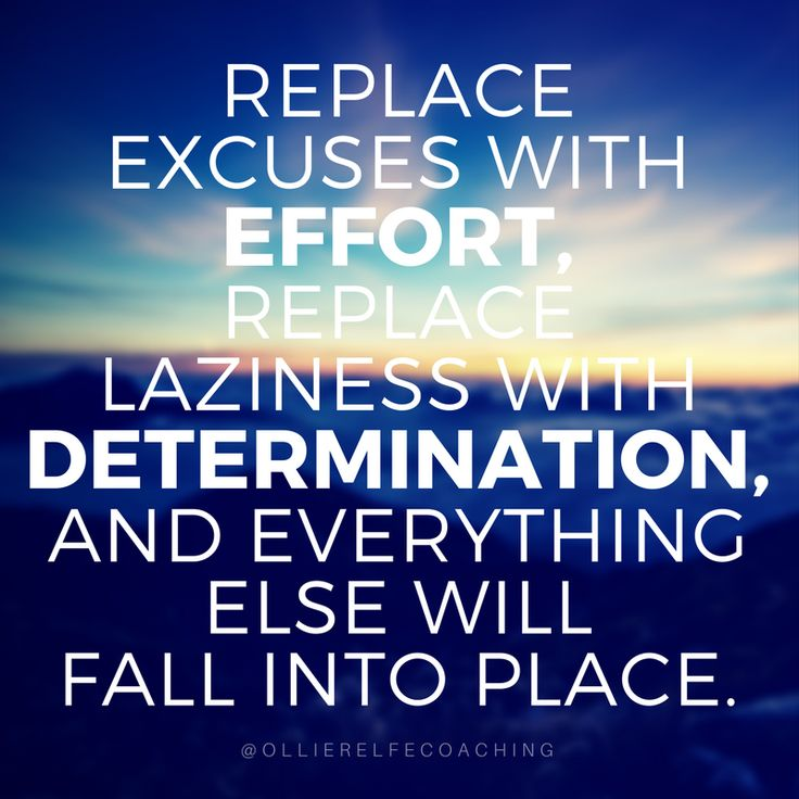 ABILITY IS LIMITLESS - Replace EXCUSES with EFFORT. Replace LAZINESS with DETERMINATION and everything else WILL fall into place.