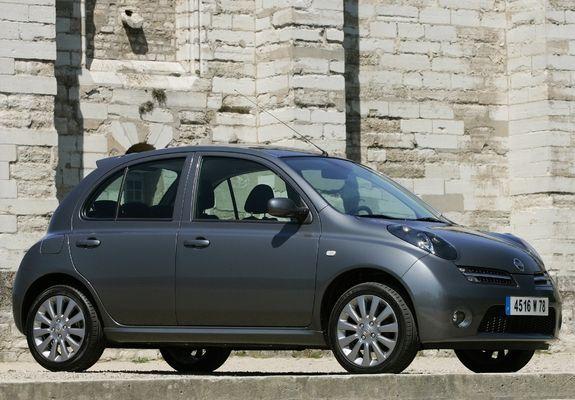 Purchase my first car Nissan Micra 160SR 5-door (K12) 2005–07