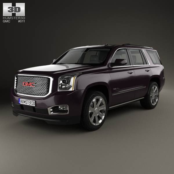 3D model of GMC Yukon Denali 2014 by humster3d.com - $75 Reviewcars2016.com