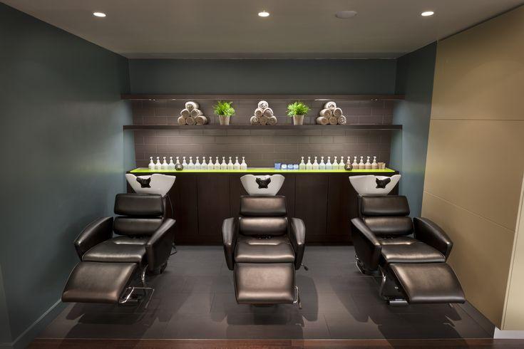Gina Conway Aveda Chelsea Shampoo Stations Salon Spa
