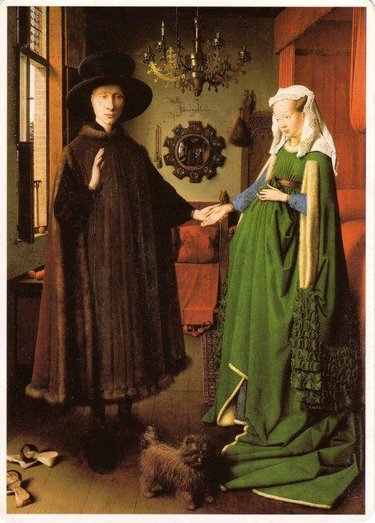 Jan Van Eyck, I coniugi Arnolfini