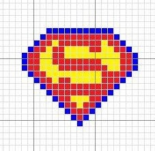 superman sprite by Retro Faerie, via Flickr