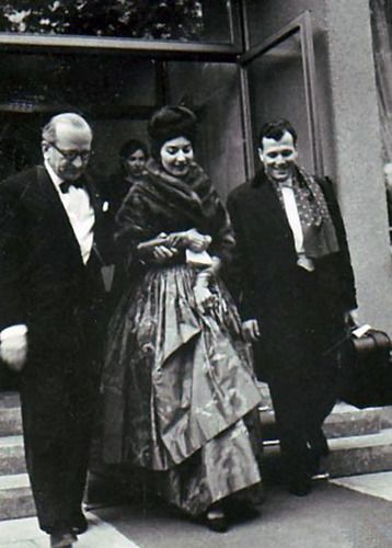Georges Prêtre and Maria Cal;las